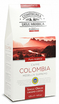 Káva mletá 125g - Single Colombia Medellin Supremo