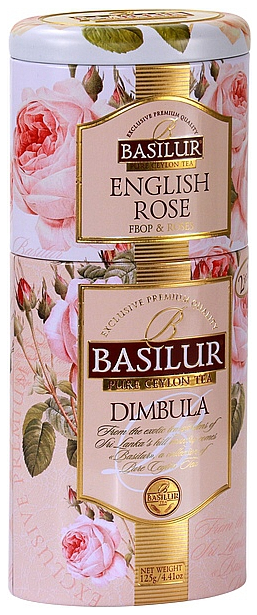 Variace čajů 125g - English Rose, Dimbula