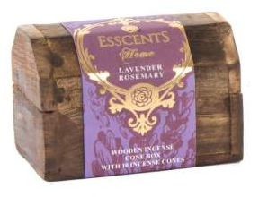 Vonné kužely Esscents 10ks - Lavender Rosemary