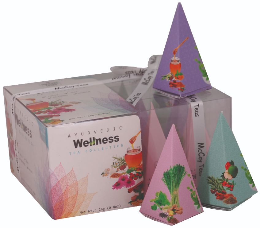Mix zelených čajů 12x2g - Wellness Tea Collection