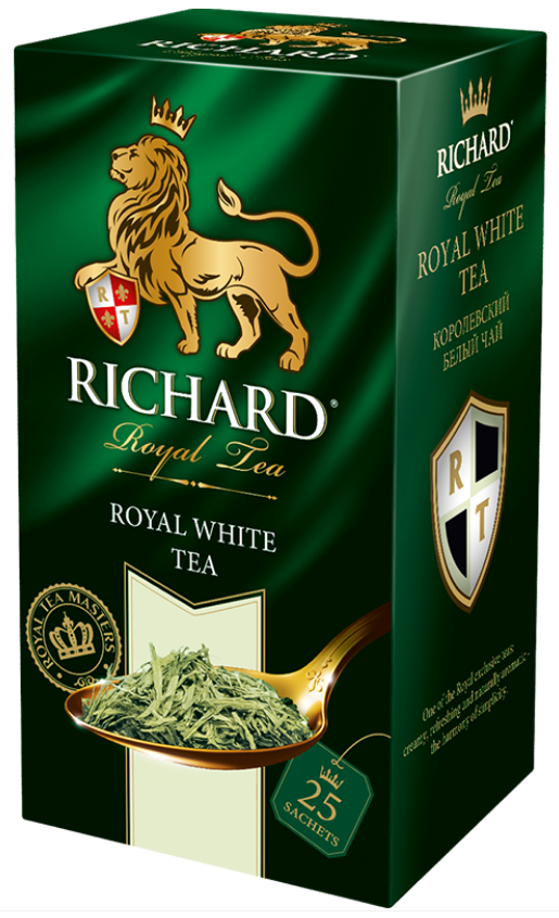 Bílý čaj čistý 25x1,5g - Royal White Tea