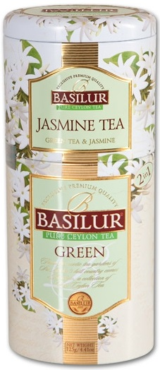 Zelený čaj - Set 2v1 - Jasmine Tea, Green