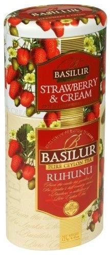 Variace čajů 125g - Strawberry Cream, Ruhunu
