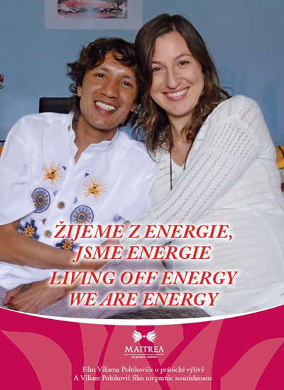 DVD - Žijeme z energie, jsme energie / Living Off Energy We Are Energy